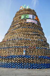 Shankill Road Bonefire