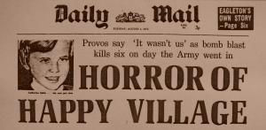 claudy news paper headline