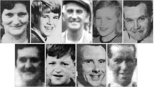 Claudy Bomb Victims