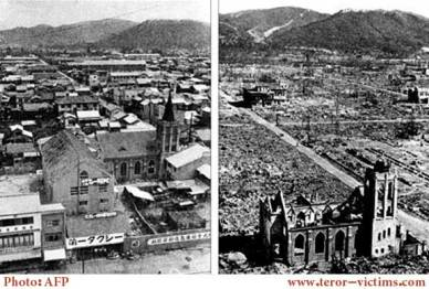 Atomic bombings Victims & aftermath
