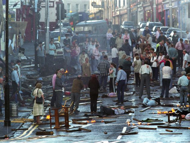 15th August Deaths & Events in Northern Ireland Troubles ...