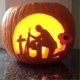 pumpkin soildier