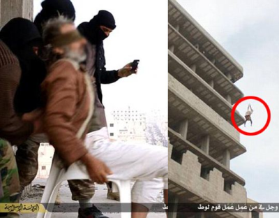 ISIS Throws Man Off Tower Block