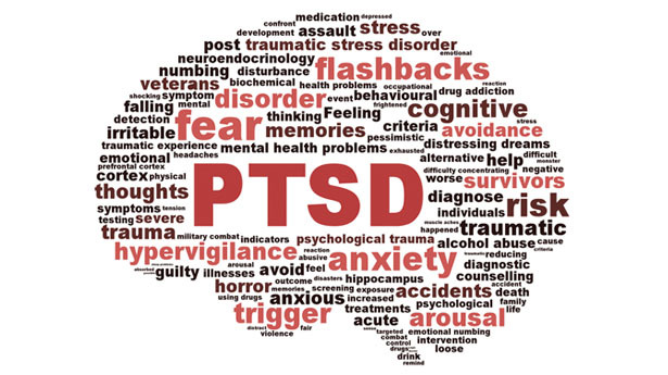 When did they start diagnosing PTSD in civilians?