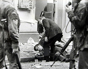Donegall Street Bombing 20th March 1972 Belfast Child