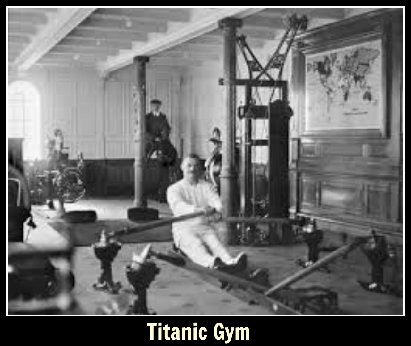 Titanic gym text