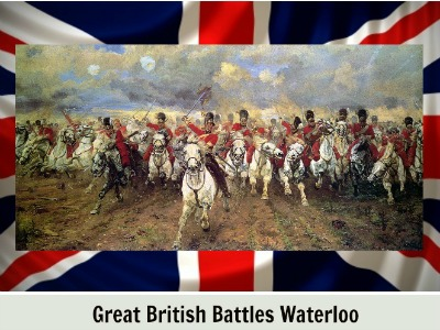 battle of waterloo with text resized