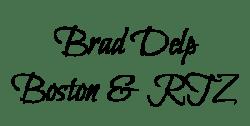 Brad Delp name tag