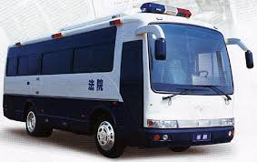 china execution van