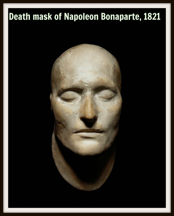Death mask of Napoleon Bonaparte, 1821 text.jpg