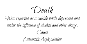 deaths death autoerotic ashyxiation