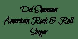 Del Shannon name tag