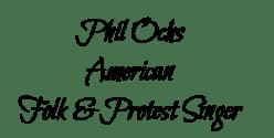 Phil Ochs 2 name tag