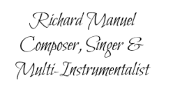 Richard Manuel 2 name tag