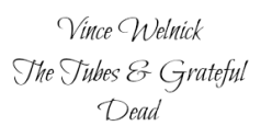 Vince Welnick 2 name tag