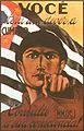 Brazilian Constitutionalist Revolution recruitment poster, 1932. You have a duty to fulfill. Ask your conscience