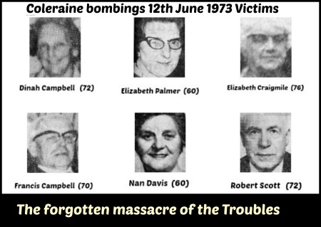 Colrain bomb victims June 12th 1973 Collage with text resized 450