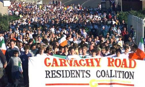 Image result for Garvaghy Road Residents' Coalition