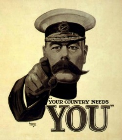 Your Country Needs you 250