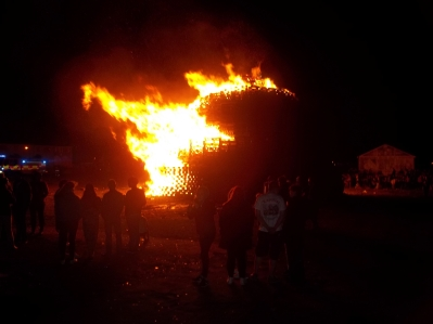 Shankill Bonfire