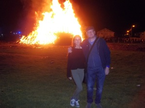 Me & Daughter at Shankill Fire