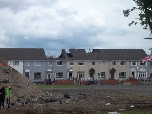 The Damaged Houses