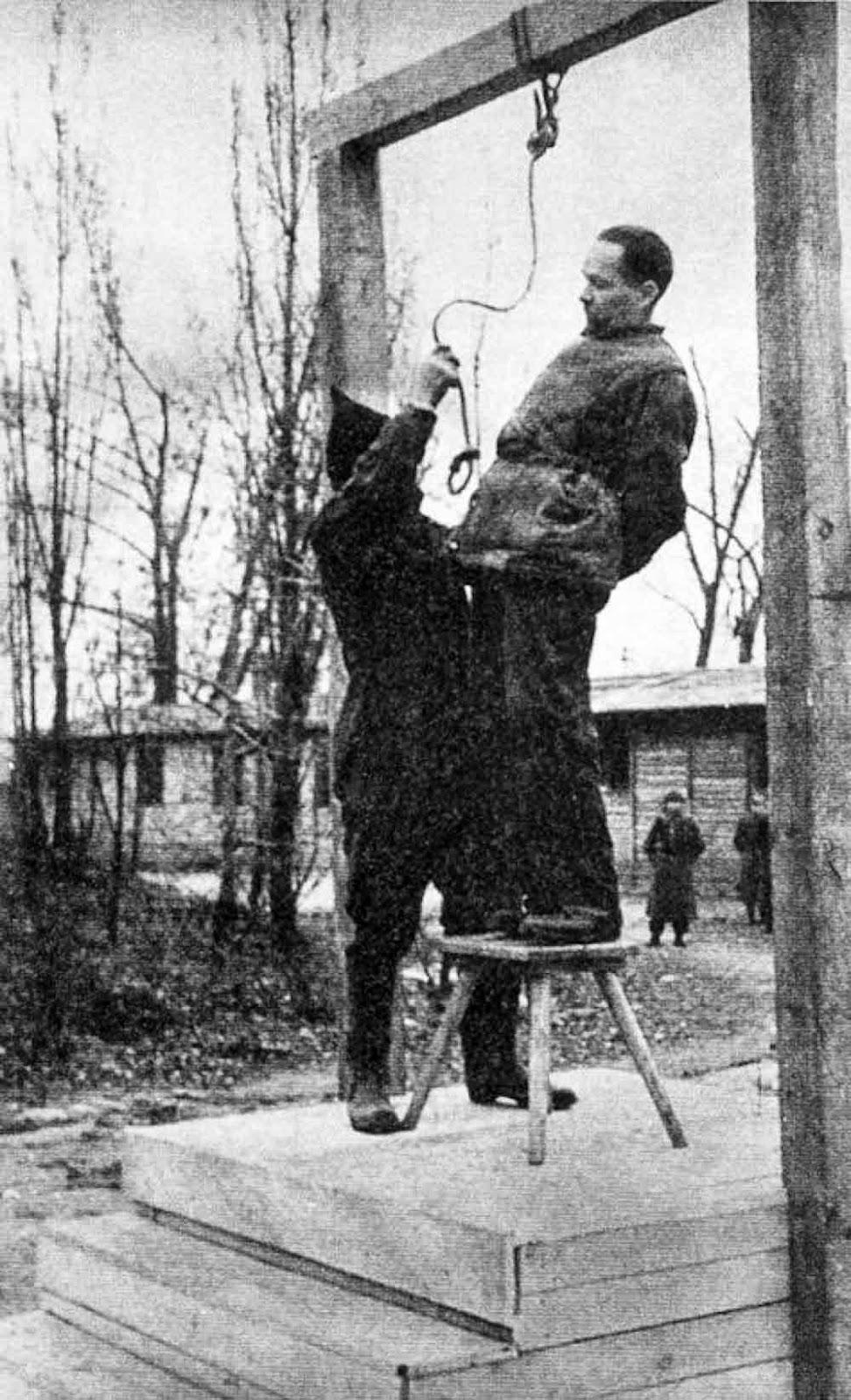 Image result for rudolf höss execution