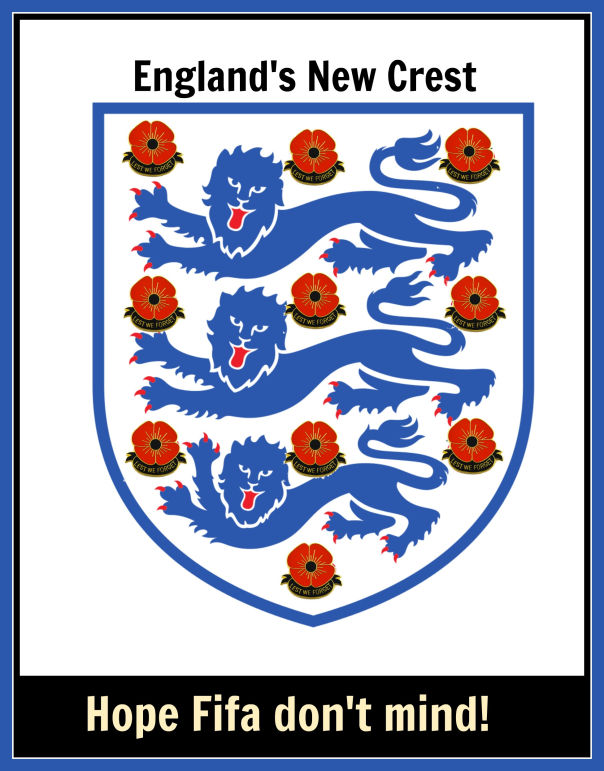 England new crest with poppy and text.png