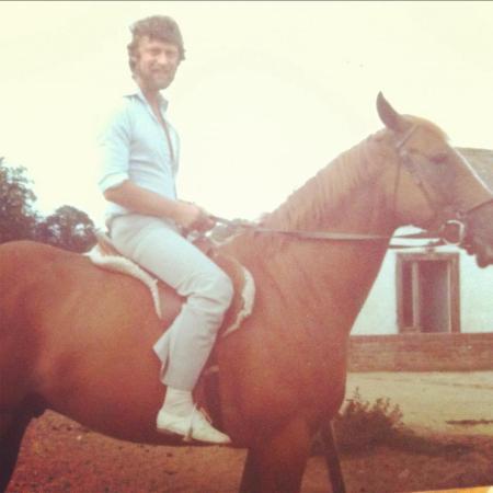 roy on horse