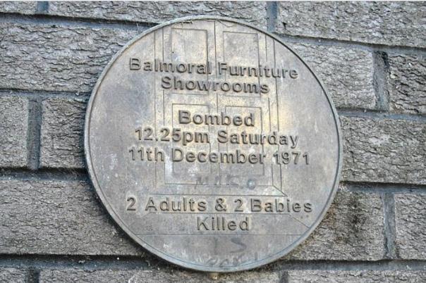 balmoral funiture plaque
