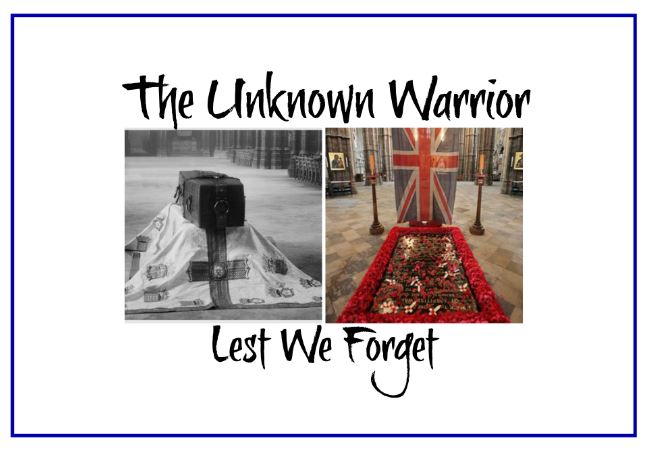 unknown soldier blog header