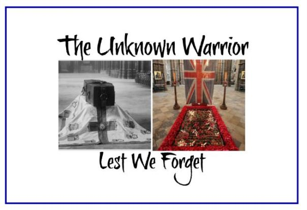 unknown soldier blog header